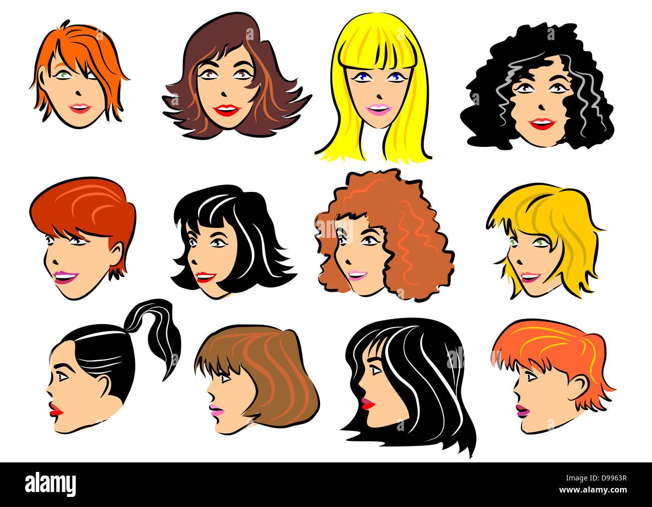 Haare Und Frisuren Stockfotos Haare Und Frisuren Bilder Alamy