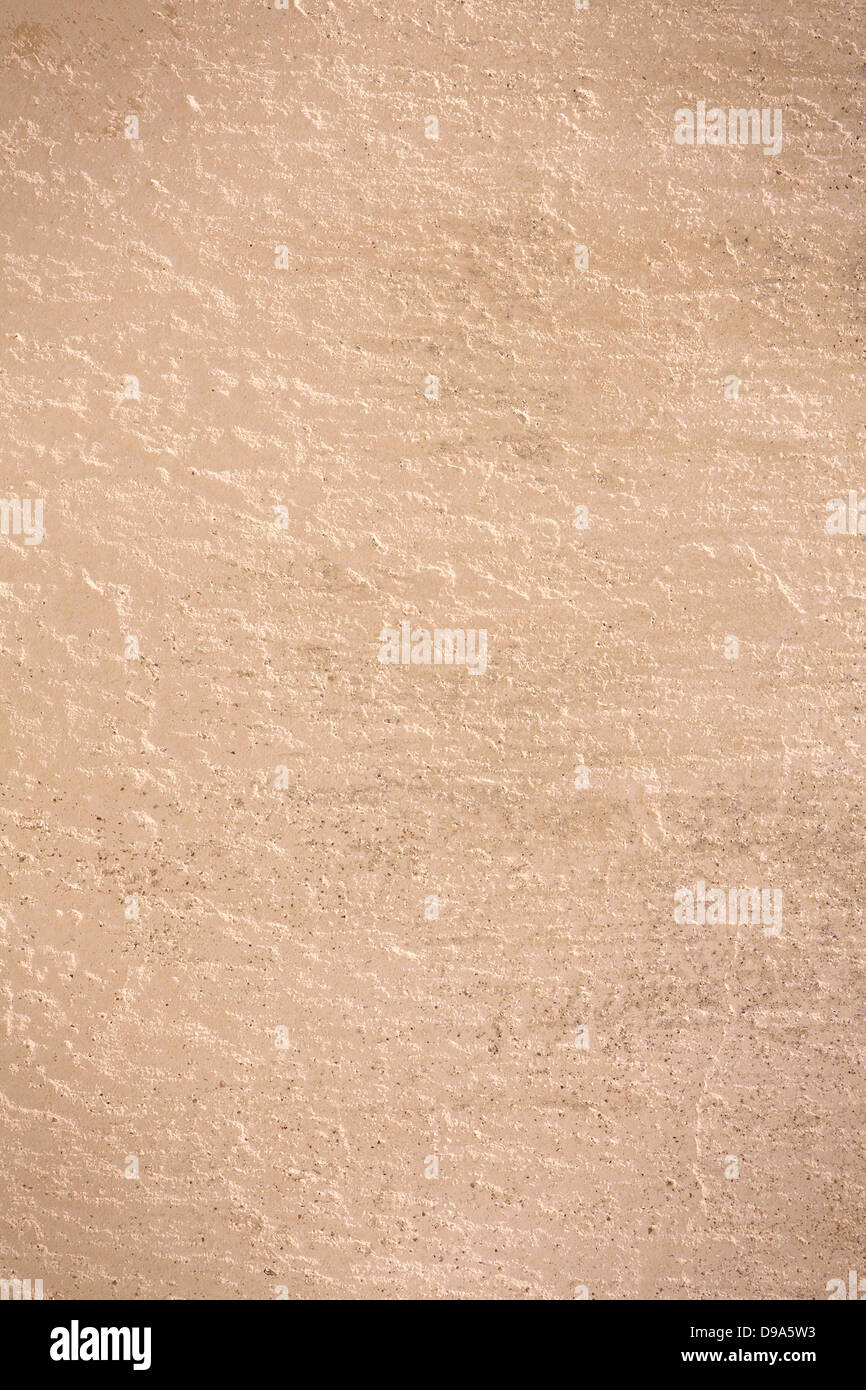 Braun Wand Putz Hintergrund Grobe Muster Textur Stockfoto Bild