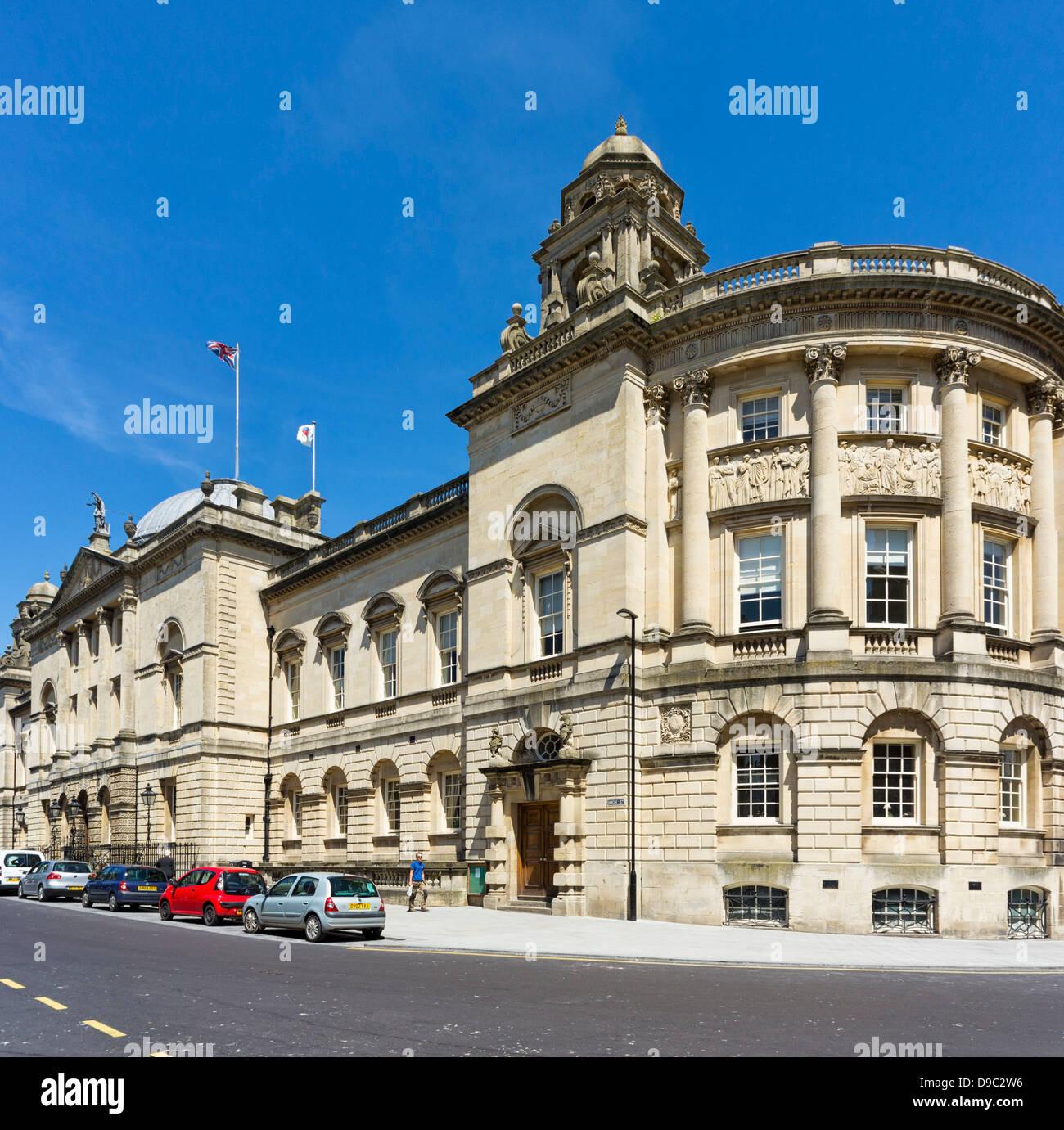 Die Guildhall in Bath, Somerset, England, Großbritannien Stockbild