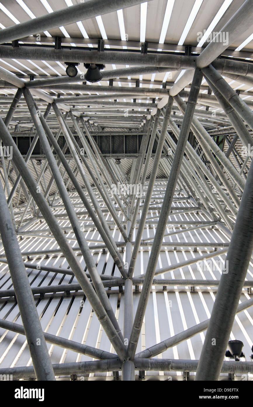 Infrastruktur des Aussichtsturms, Manchester, UK. Stockbild