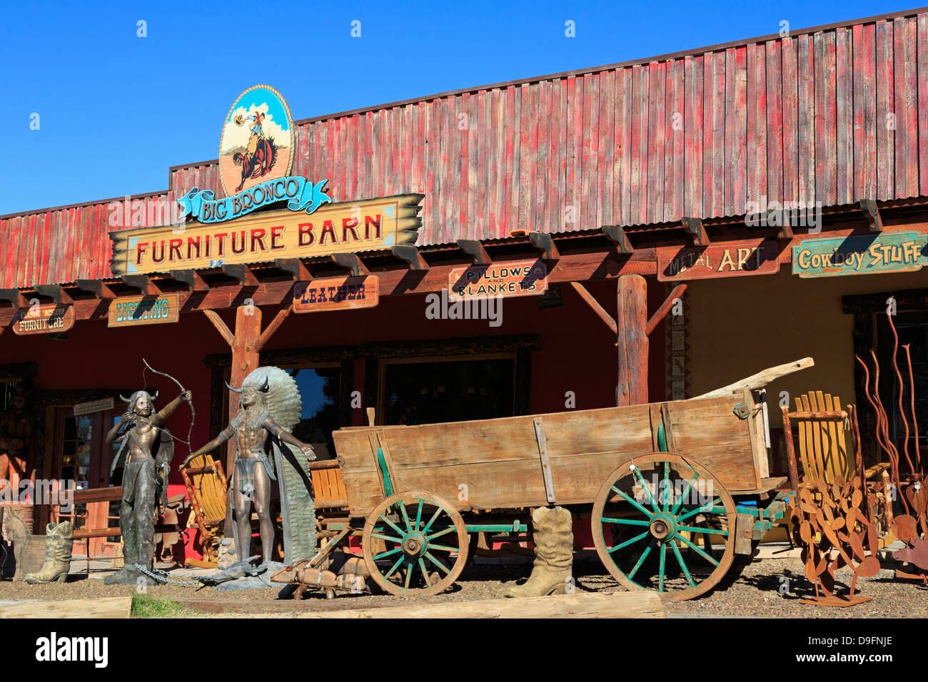 Großen Bronco Western Store, Cave Creek, Arizona, USA Stockbild