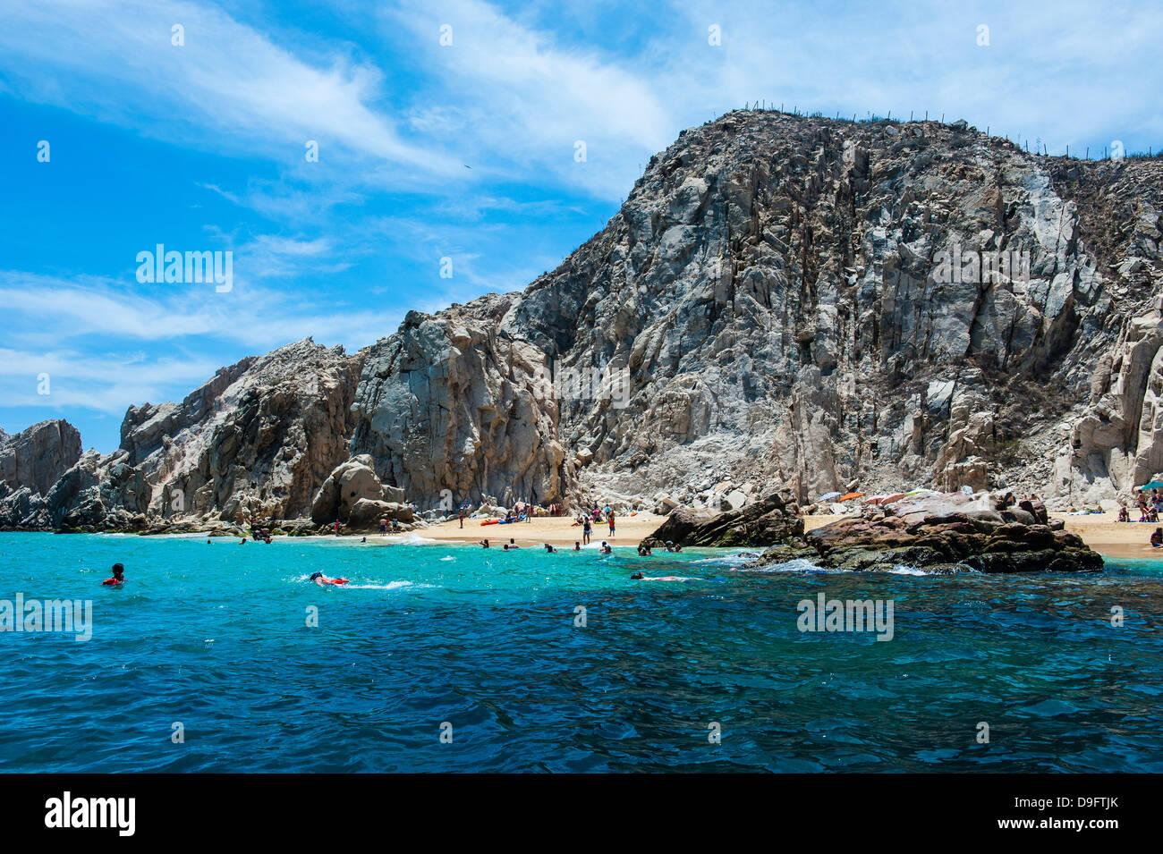 Lands End Felsformation, Los Cabos, Baja California, Mexiko Stockfoto