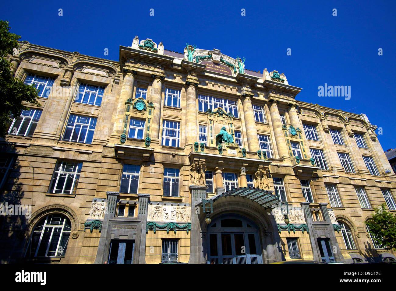 Franz Liszt Musikakademie, Budapest, Ungarn Stockbild