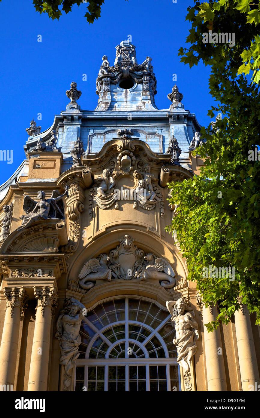 Ungarische Landwirtschaftsmuseum, Budapest, Ungarn Stockfoto