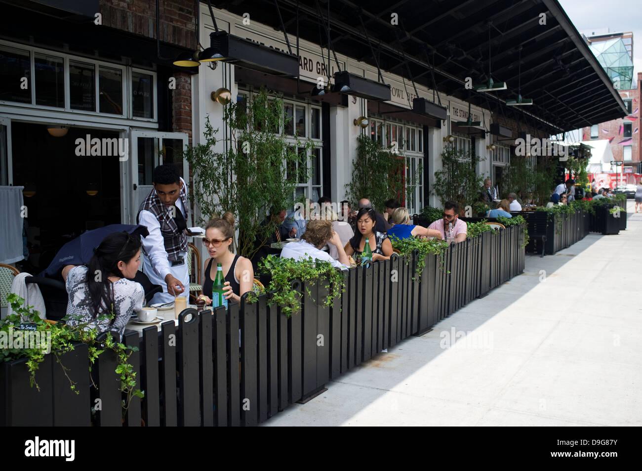 Die Standard Grill Restaurant Meatpacking District Manhattan New