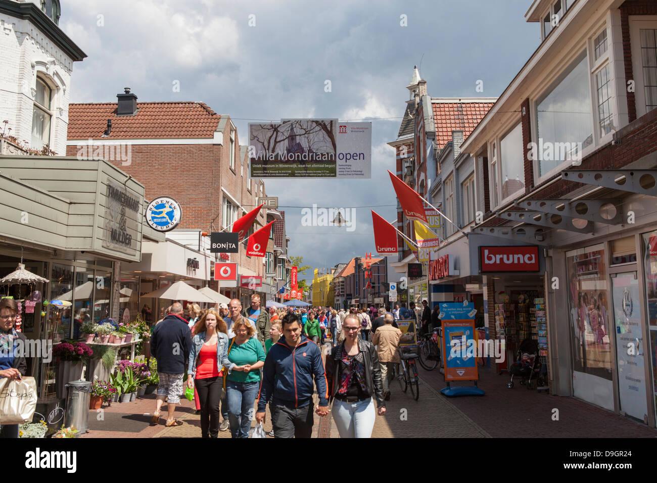 Winterswijk Geschäfte consumption economy stockfotos consumption economy bilder alamy