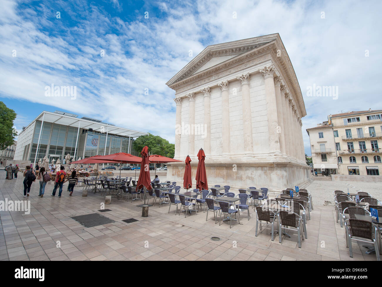Maison Carrée Stockfotos & Maison Carrée Bilder - Alamy