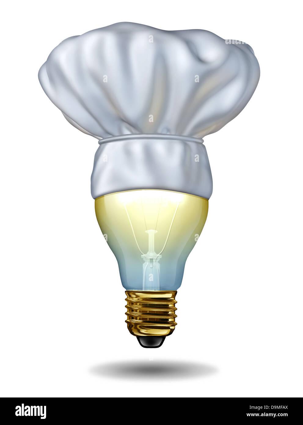 Ideen und kreative Küche kochen oder Backen Kreativität mit einem ...