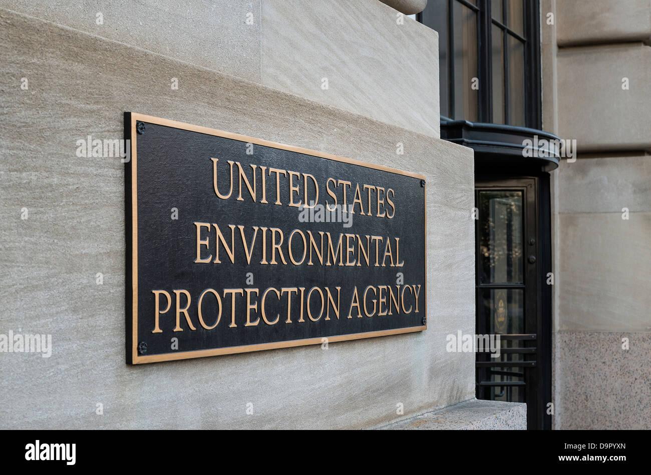 EPA Gebäude, United States Environmental Protection Agency, Washington DC, USA Stockbild