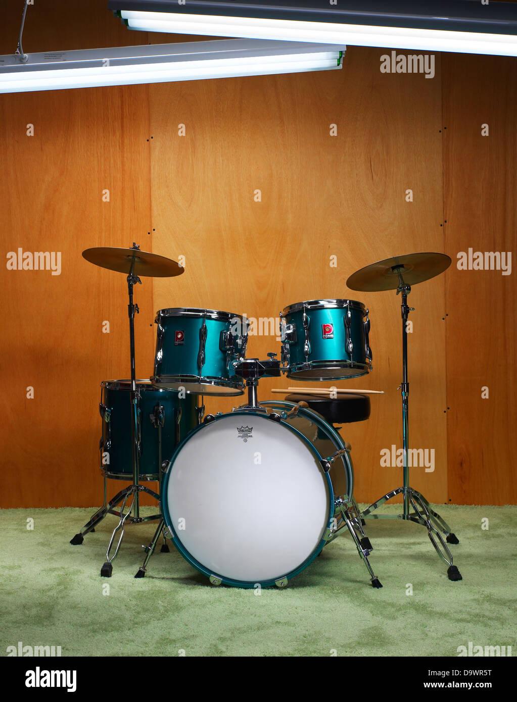 Schlagzeug Stockbild