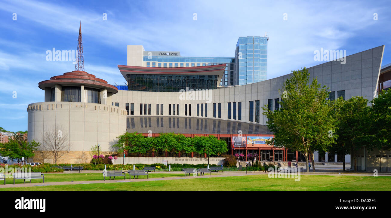 Nashville Country Music Hall of Fame. Stockbild