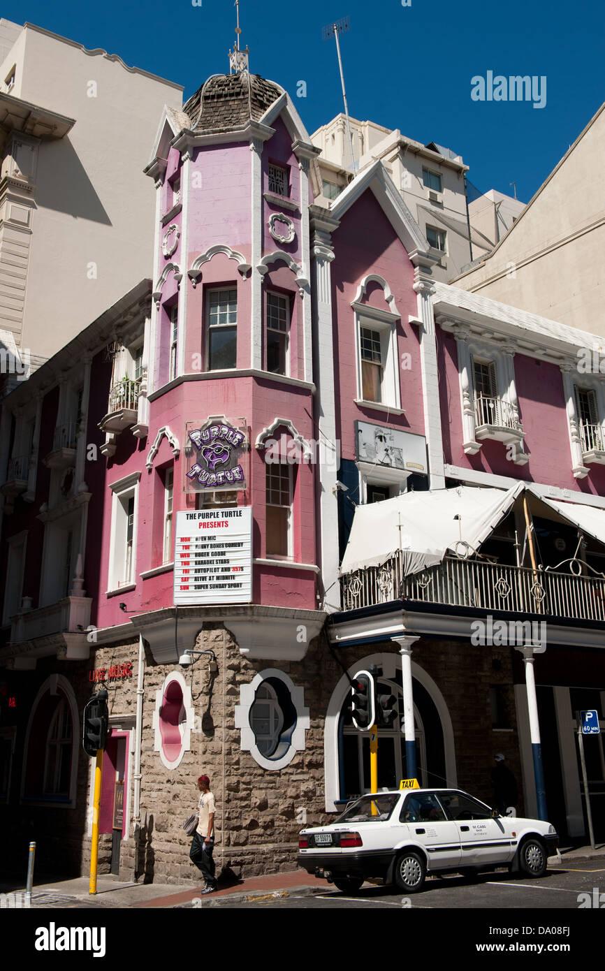 Deco Architektur deco architektur kapstadt südafrika stockfoto