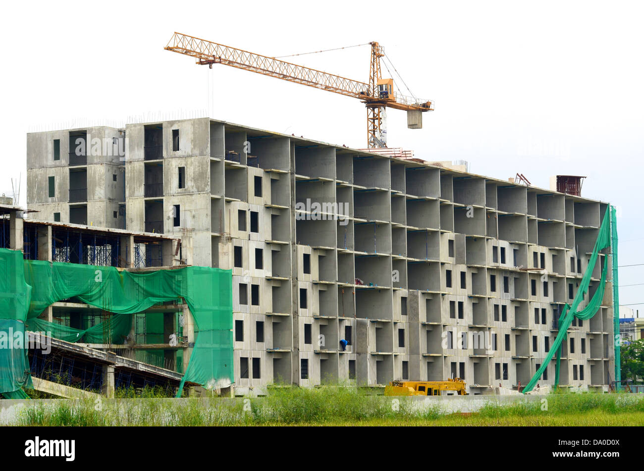 Baustelle Stockbild