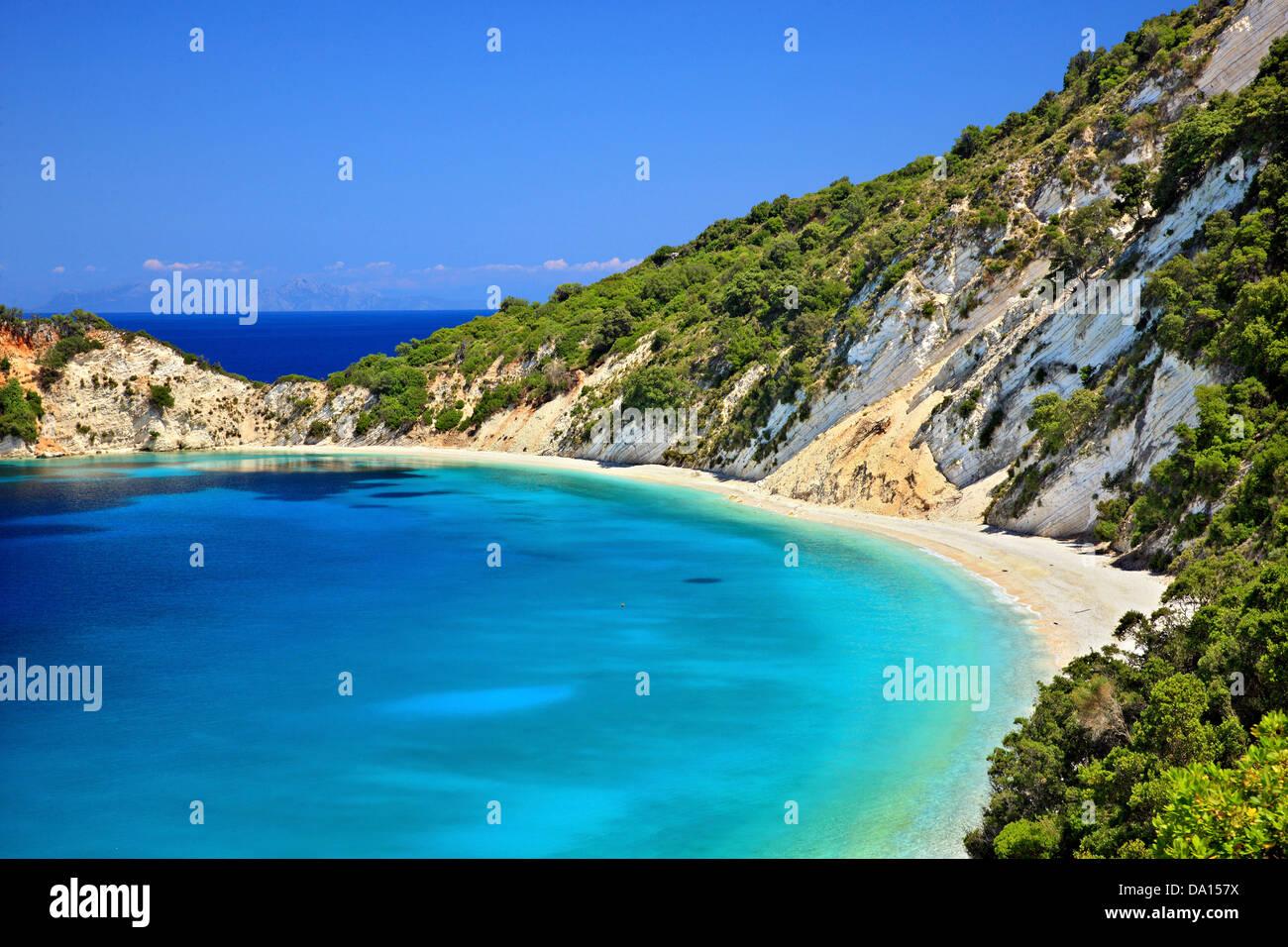 Gidaki Strand Der Schönste Strand Von Ithaka Ithaki Insel