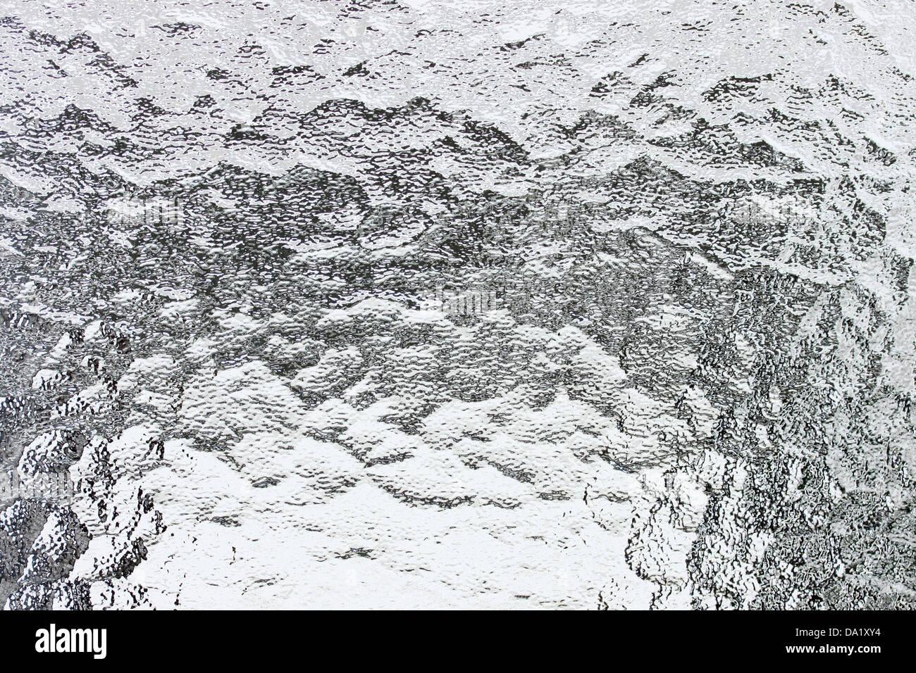 Dies ist holprig und verschwommen Glas Hintergrund Stockbild