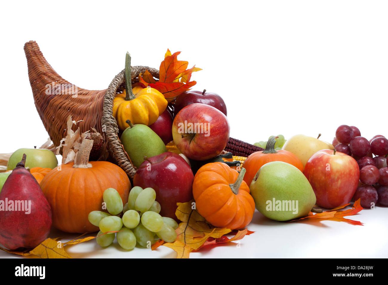Horn Plenty Fruit Stockfotos & Horn Plenty Fruit Bilder - Alamy