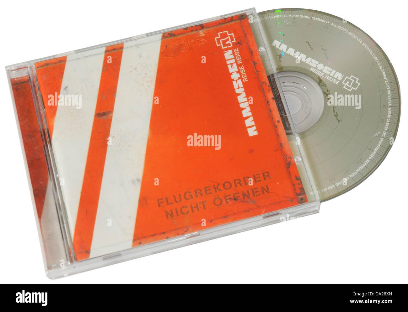Rammstein Reise Reise Album auf CD Stockbild