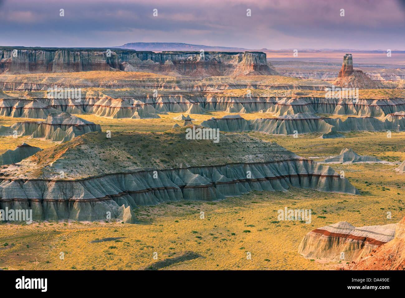 Ha Ho No Geh Canyon, im Nord-östlichen Teil von Arizona in der Nähe von Tuba City, USA Stockbild