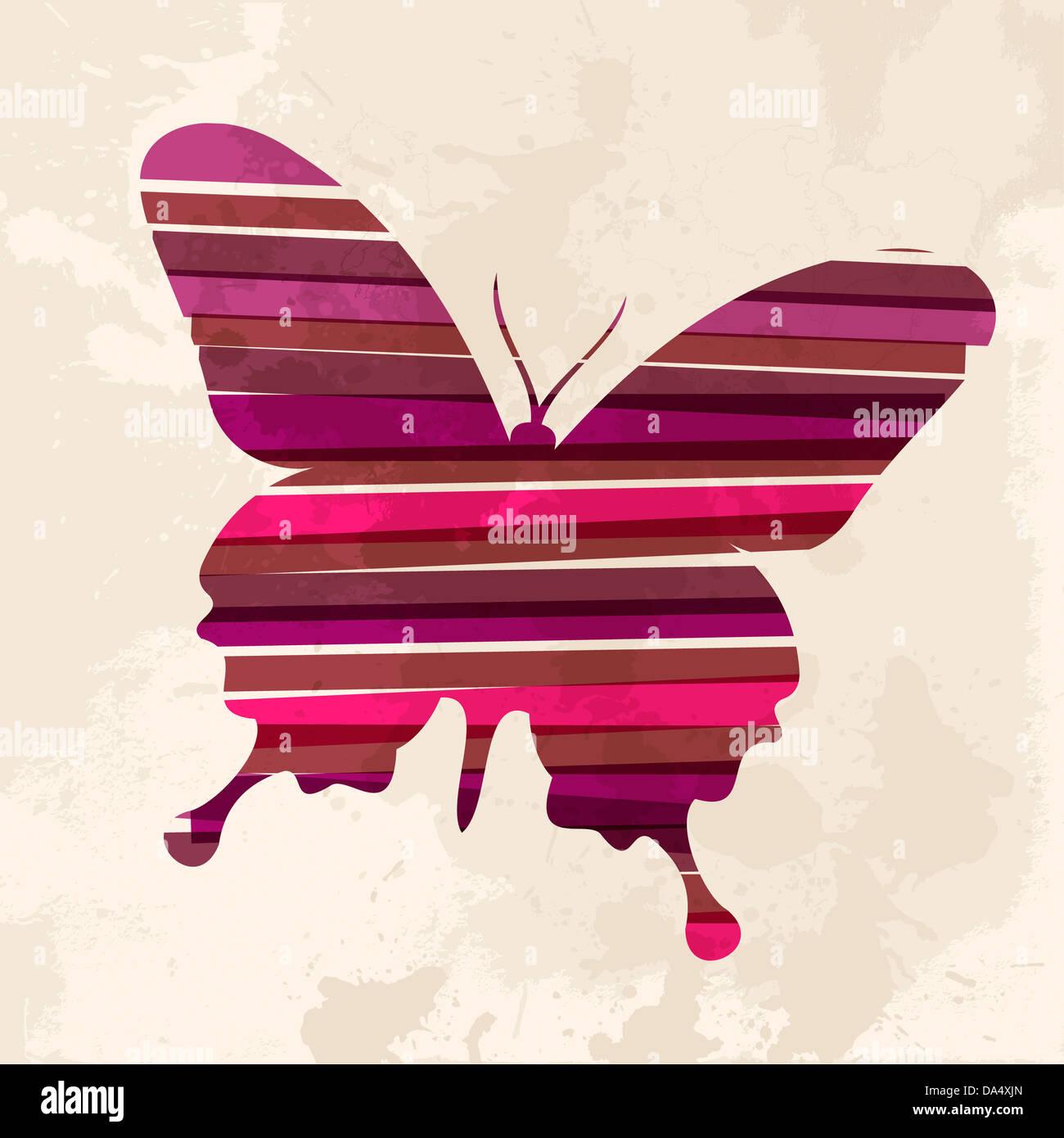 Wunderbar Einfache Schmetterling Färbung Seite Zeitgenössisch ...
