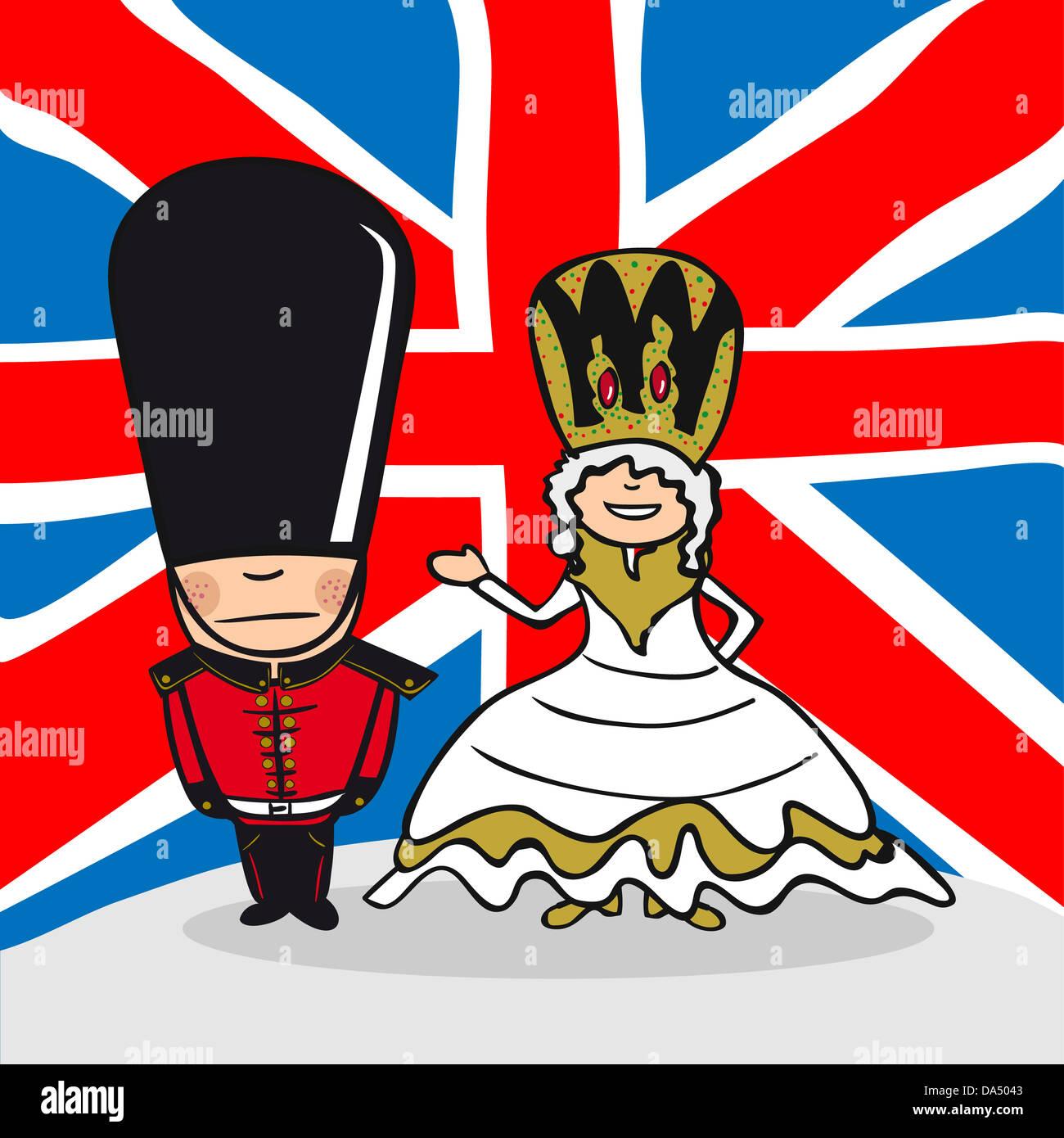 Englisch Paar