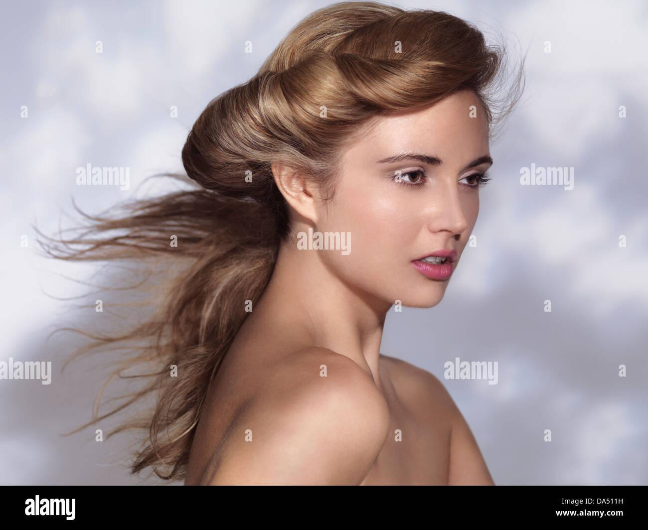 Klassisches Gesicht Stockfotos Klassisches Gesicht Bilder Alamy
