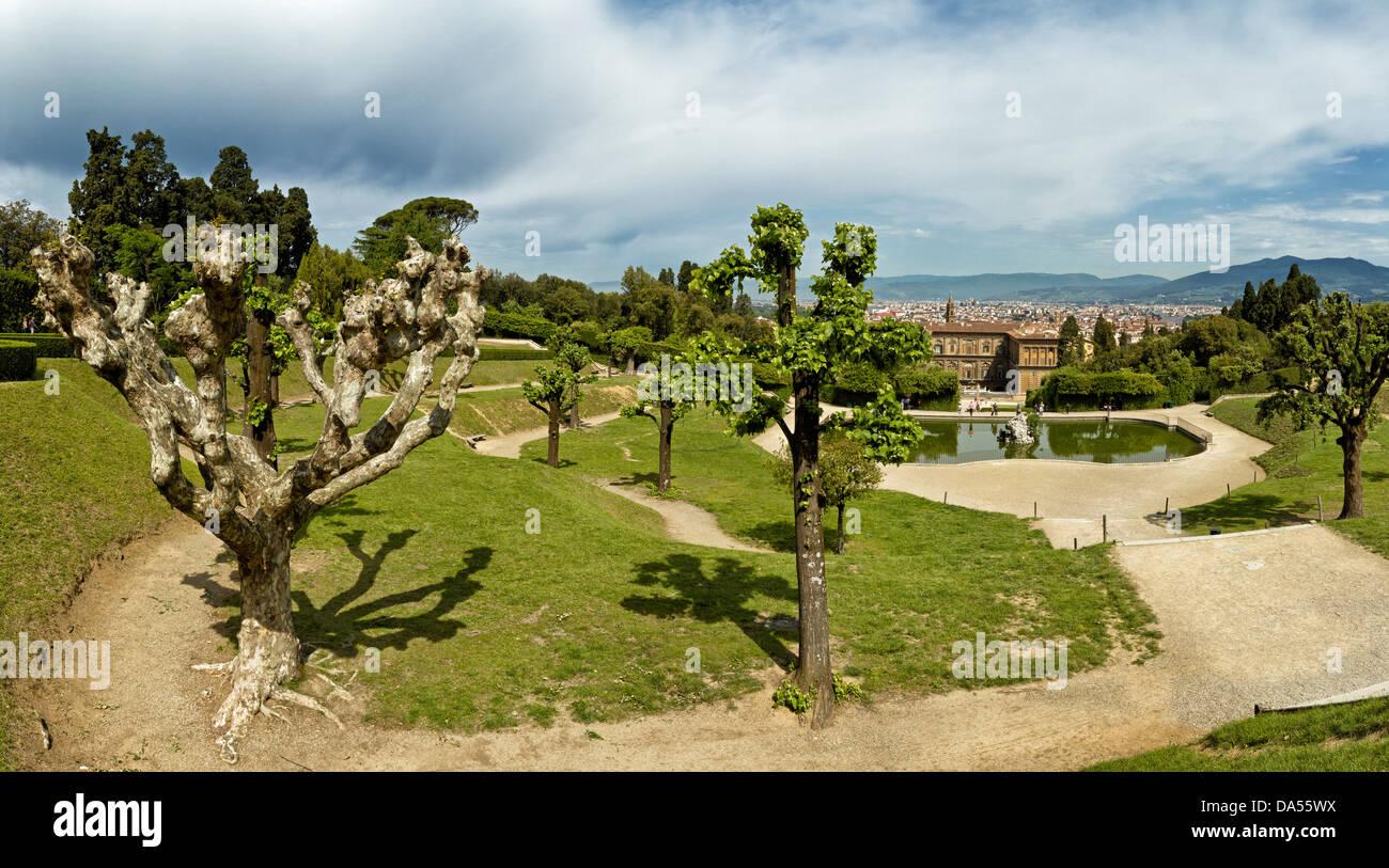 Giardino di boboli florenz italien europa toskana toscana
