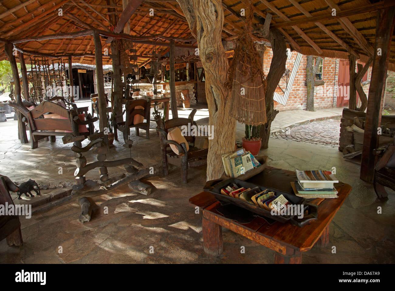 Rustikale Bar rustikale bar roys rest c in der nähe grootfontein namibia