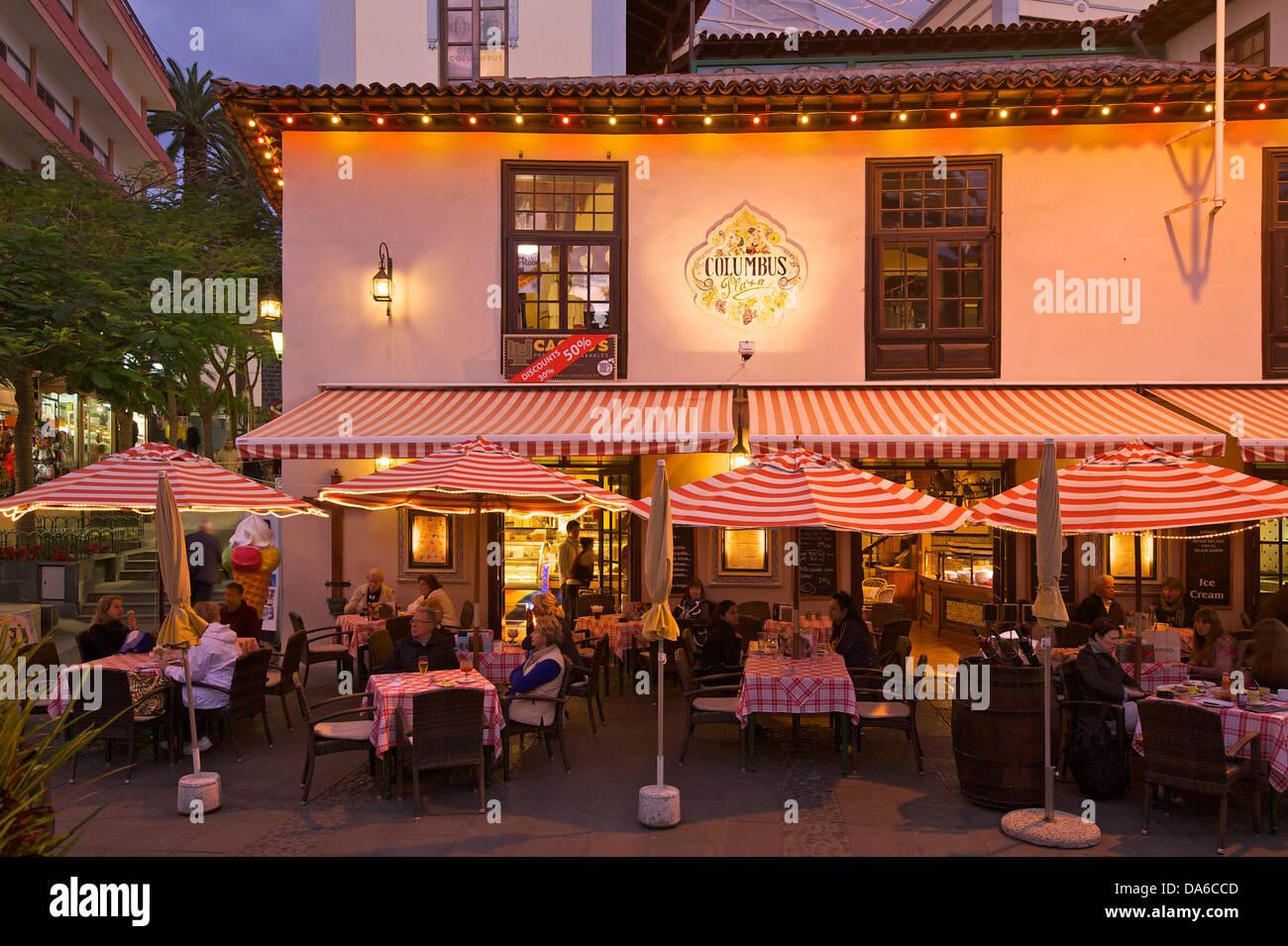 Tenerife restaurant stockfotos tenerife restaurant bilder alamy - Mcdonald s puerto de la cruz ...