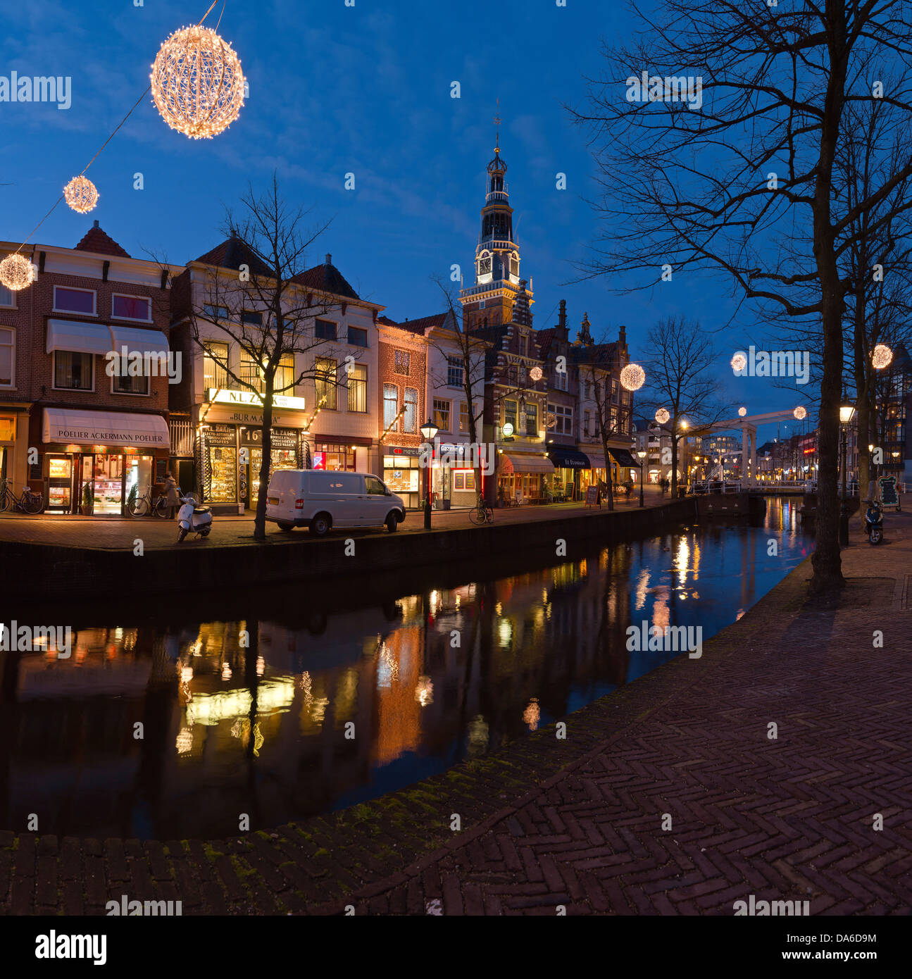 holland niederlande europa alkmaar weihnachten historisch stadt dorf wasser winter. Black Bedroom Furniture Sets. Home Design Ideas