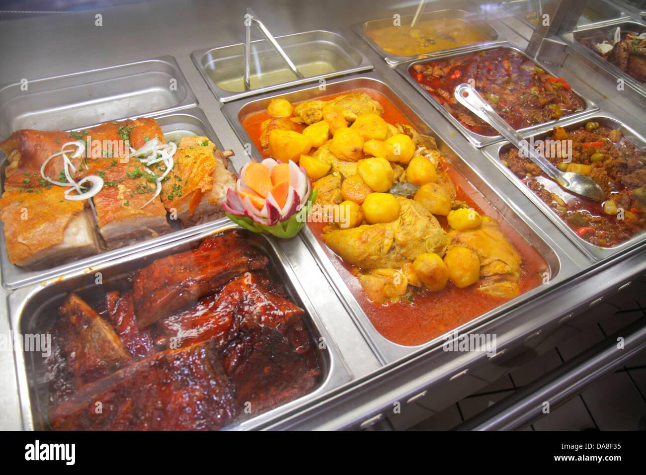 Miami Florida El Palacio De Los Jugos kubanische Küche authentische ...
