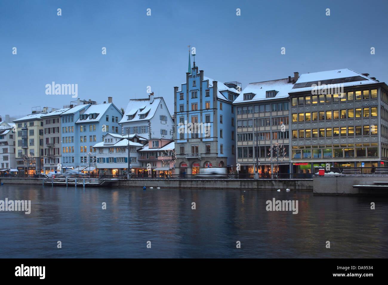 Advent, Beleuchtung, Beleuchtung, Adventszeit, Altstadt, Stadt, Sonnenuntergang, Dämmerung, Kirche, Lichter, Stockbild