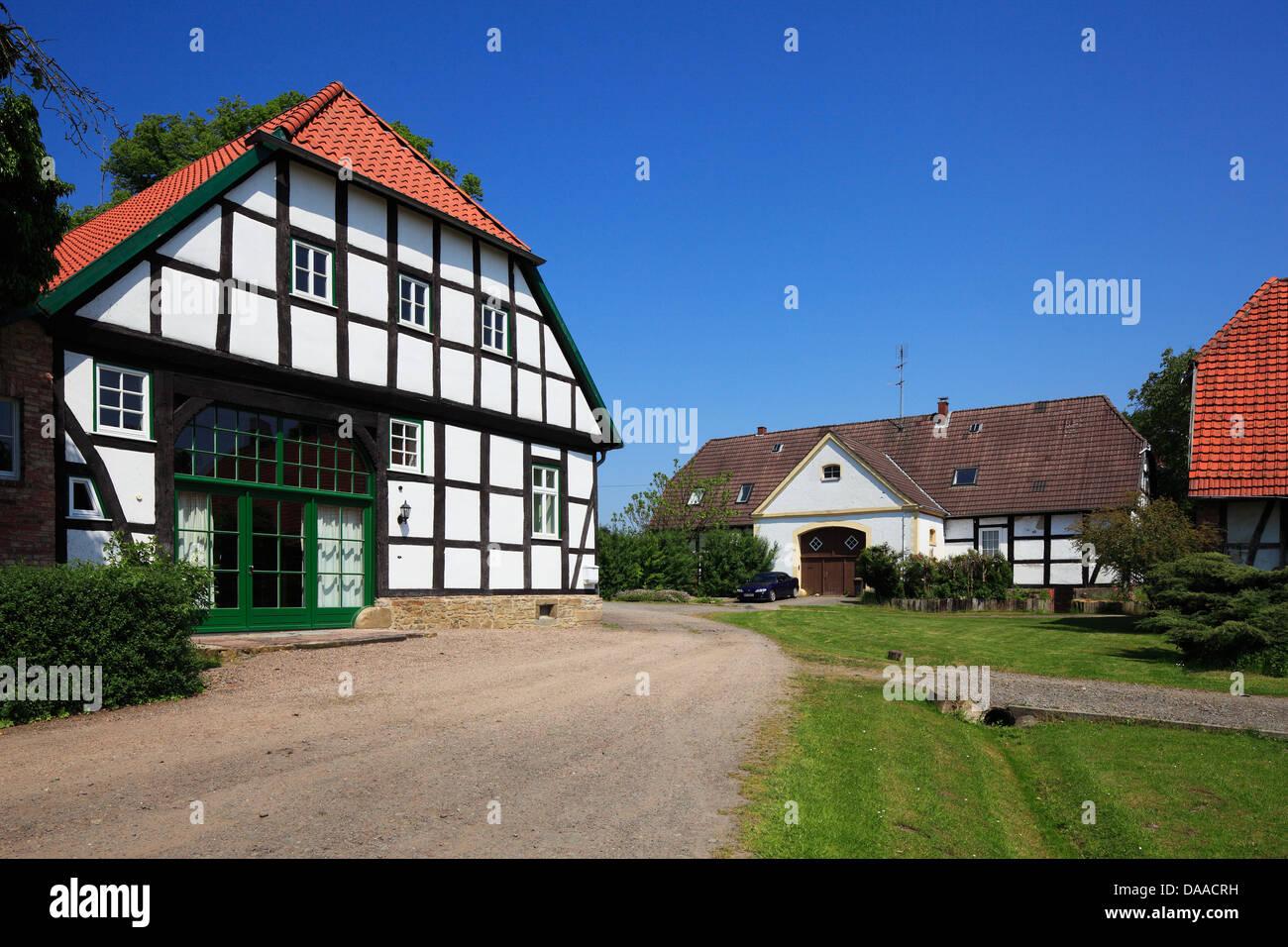 Wirtschaftsgebaude Ehemaliges Rittergut Hudenbeck Im Kurpark Von Bad