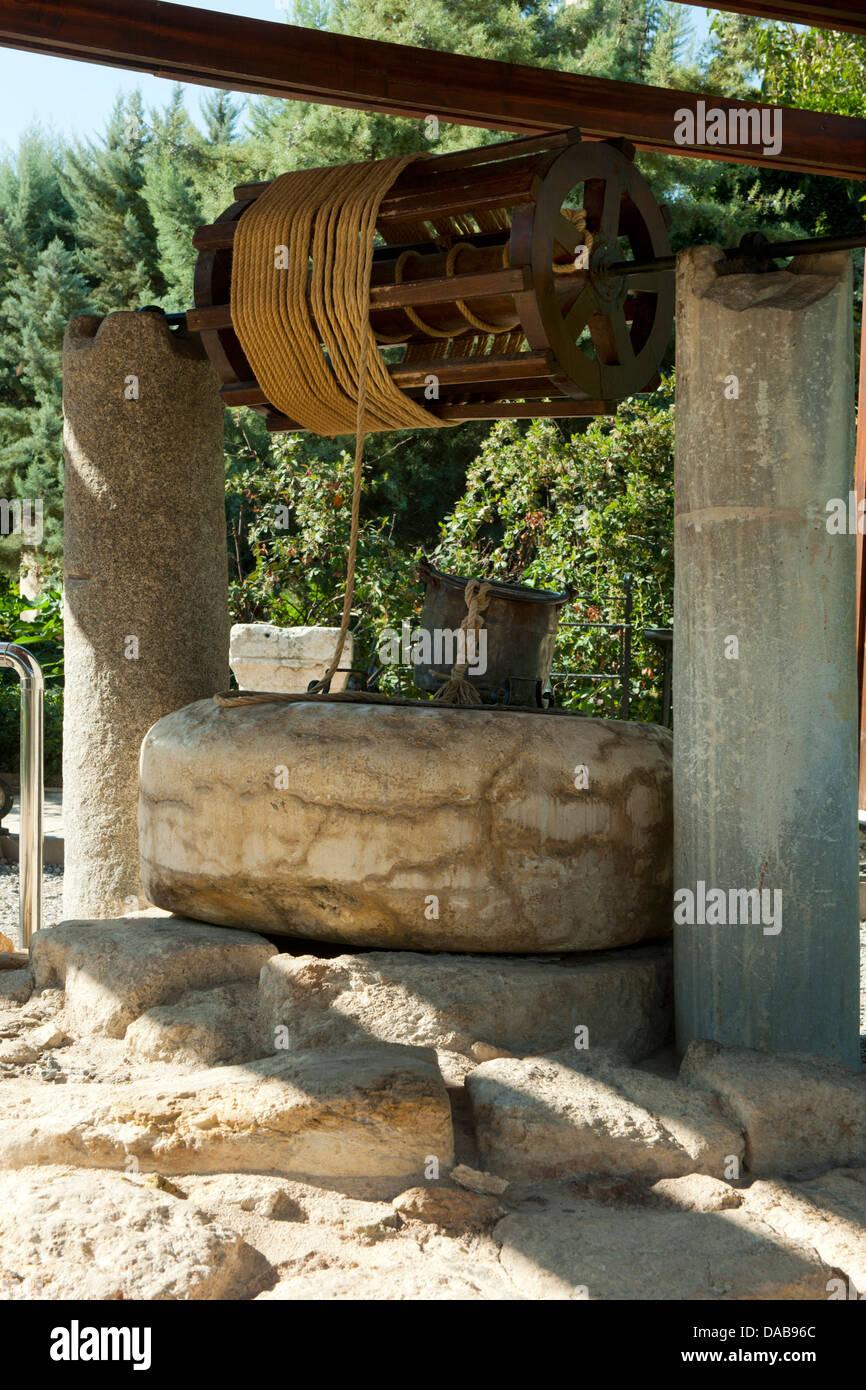 Ägypten, Provinz Icel (Mersin), Tarsus, Paulus-Brunnen Stockbild