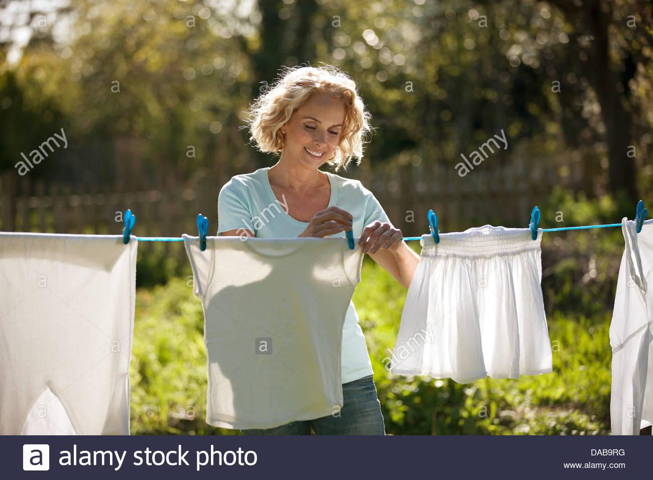 alte reife Wäsche