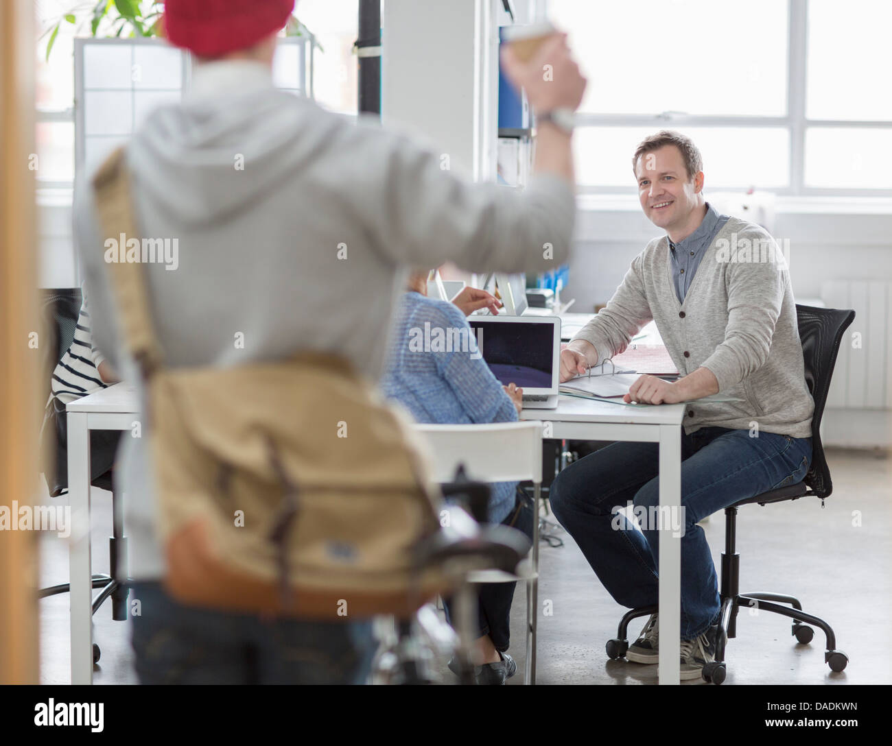Treffen mann