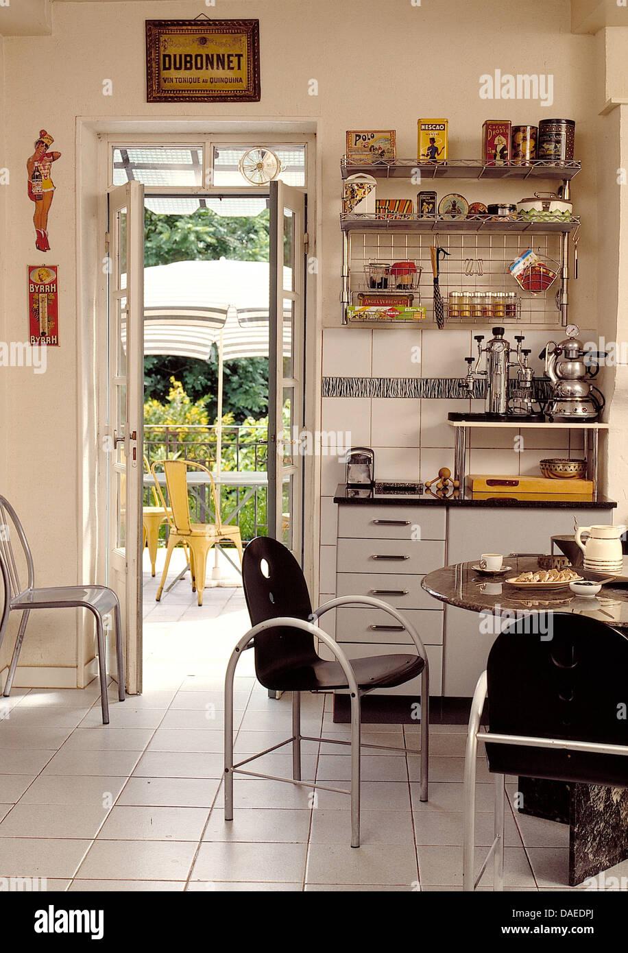Ungewöhnlich Retro Küchenschränke Metall Bilder - Küchenschrank ...