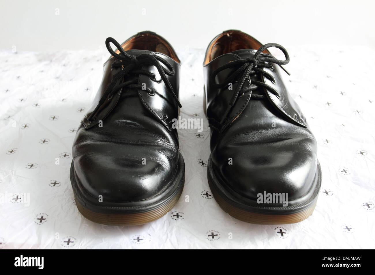 Dr. Martens Schuhe, air Wair, schwarze Schuhe, Norfolk