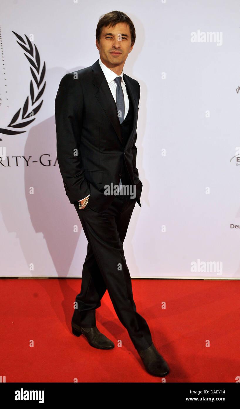 Schauspieler Oliver Martinez kommt bei der Unesco Charity Gala 2011 in Düsseldorf, 19. November 2011. Stars Stockbild