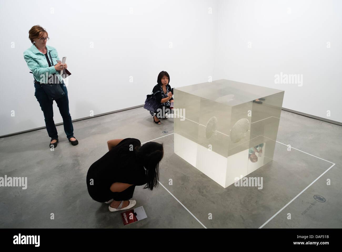 Museum of Contemporary Art in Sydney, Australien Stockbild
