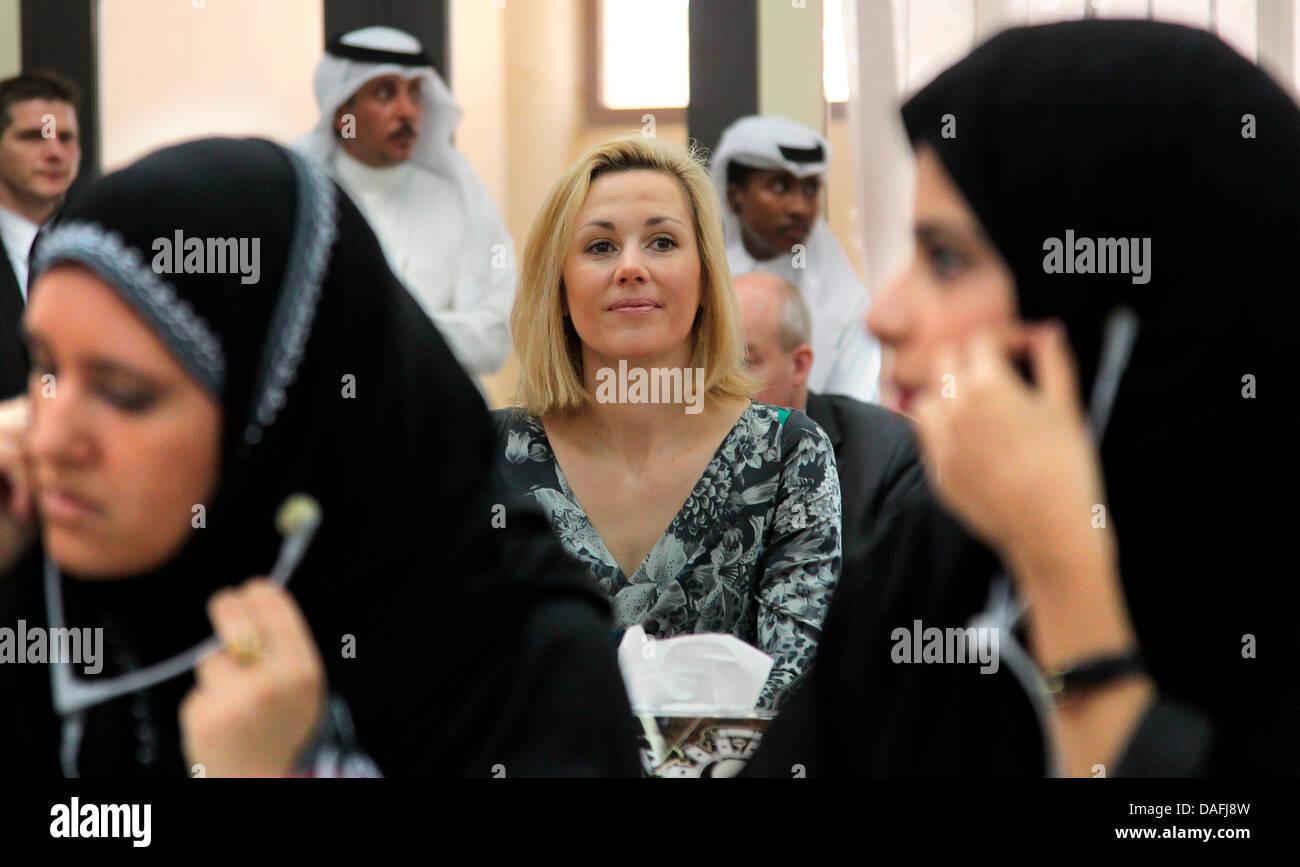 einzelne Frauen in Kuwait