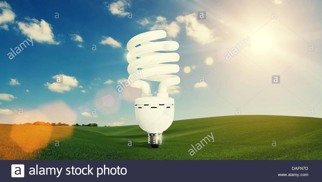 Energiekonzept Stockbild