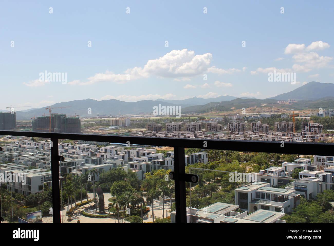Schone Aussicht Vom Balkon Stockfoto Bild 58137401 Alamy