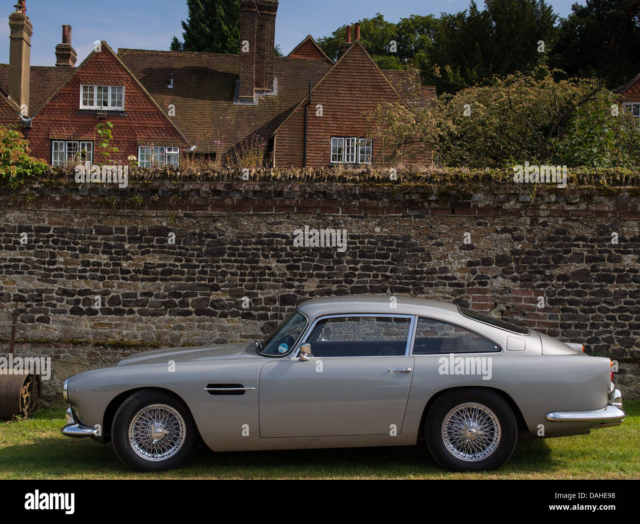 Aston Martin DB4 Stockbild