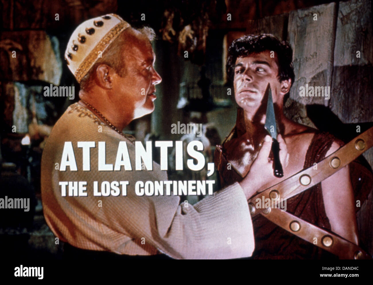 ATLANTIS, DER VERLORENE KONTINENT (1961), EDGAR STEHLI, ANTHONY HALL, GEORGE PAL (DIR) ALCO 001 MOVIESTORE SAMMLUNG Stockbild