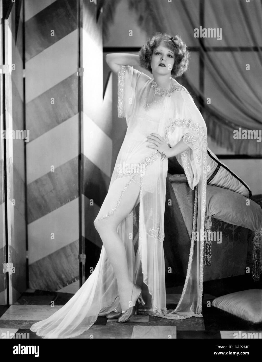 Ihre Hochzeitsnacht 1930 Paramount Film mit Clara Bow Stockbild
