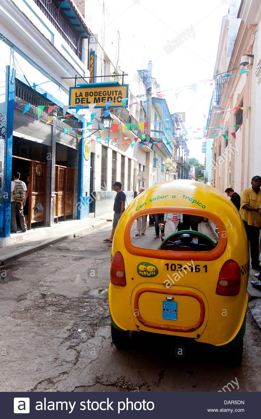 La Bodeguita del Medio, Havanna, Kuba, Südamerika Stockbild