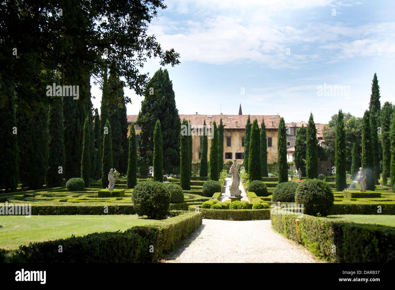 Giusti palast und garten palazzo e giardino giusti verona