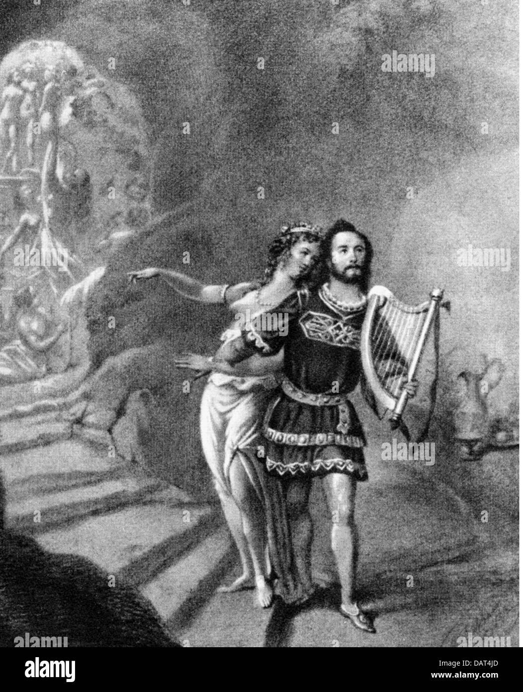"""Theater, Oper """"Tannhäuser und der Sänger """"Krieg an der Wartburg"""" (Tannhäuser und der Stockbild"""