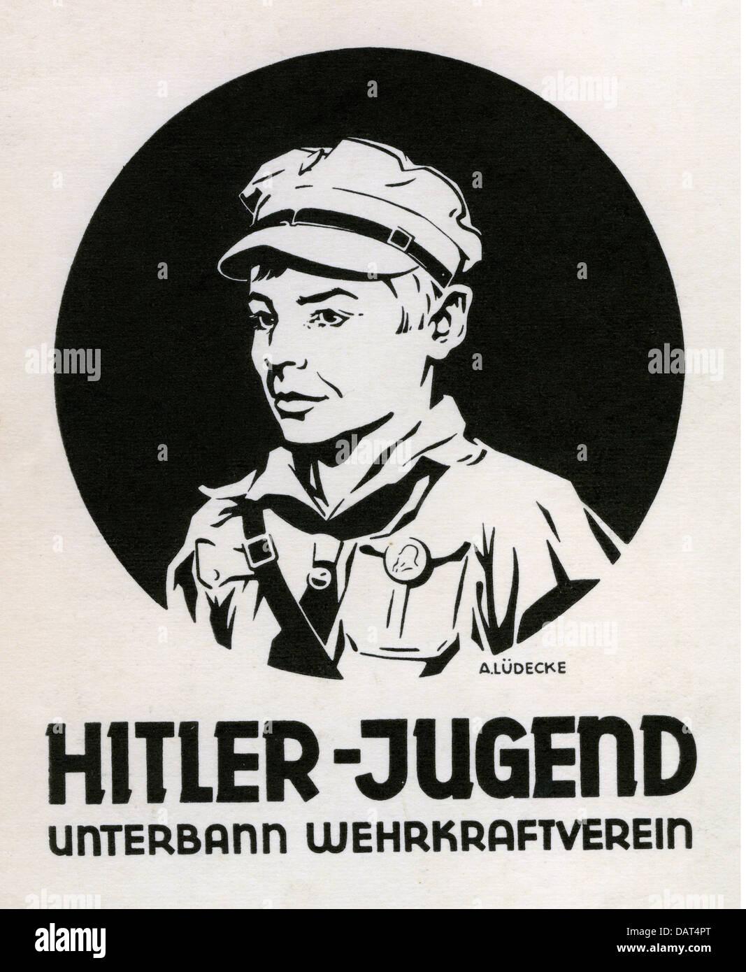 Nationalsozialismus, Organisationen, Hitler-Jugend ...