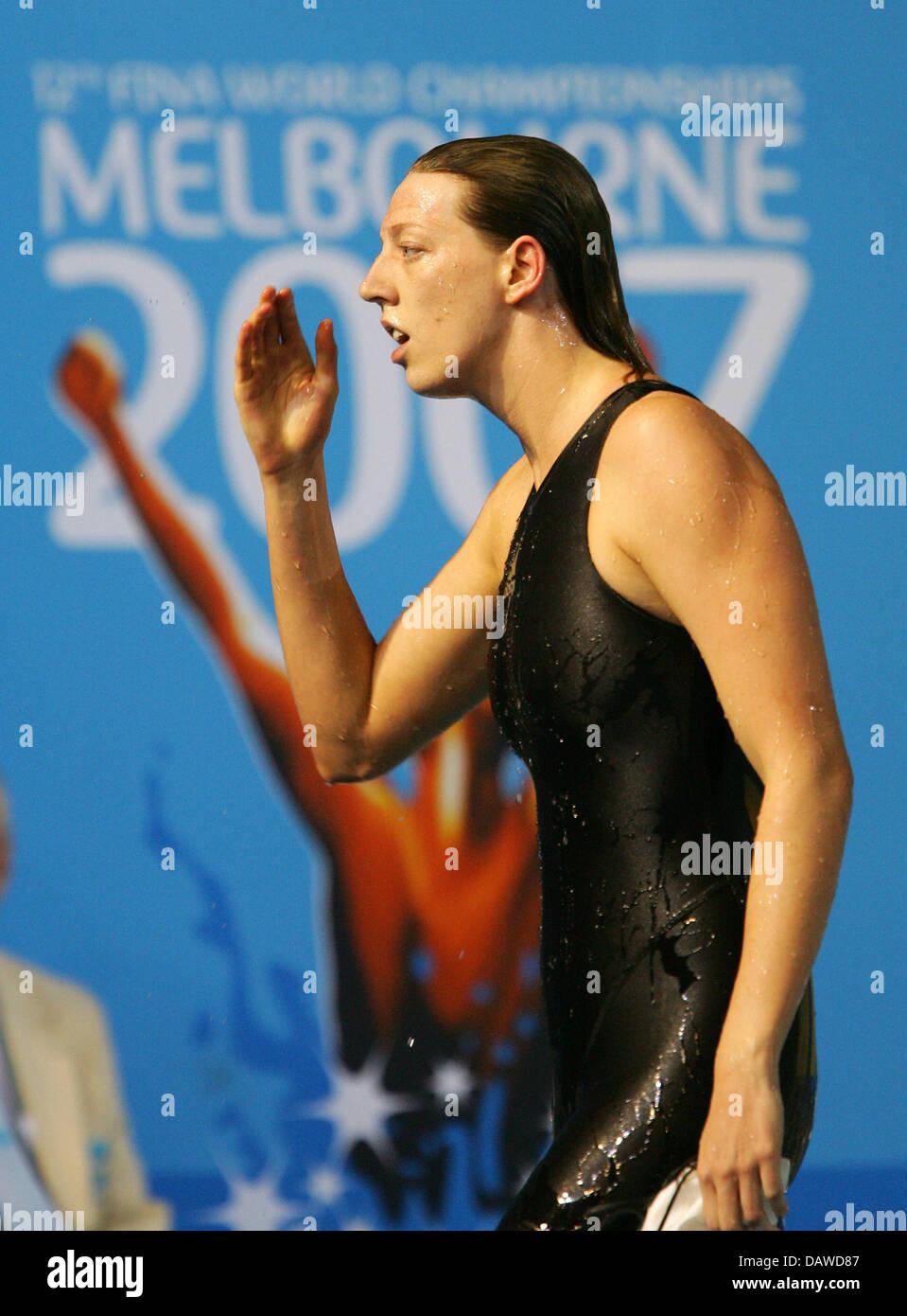Deutsche Schwimmerin